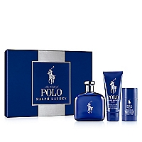 Estuche Polo Blue EDT 125 ML + Shower Gel 100 ML+ Desodorante 75 ML