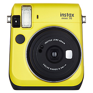 Cámara Instantánea Mini 70 Amarilla