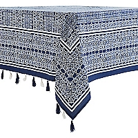 Mantel Rectangular Azul Pompo