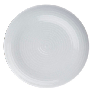 Plato Charger Roulette White