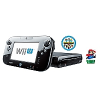 Consola Wii U Deluxe Set + Amiibo Mario 8 bit Modern Color