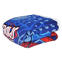 Frazada Spiderman Polar/Sherpa 1,5 Plazas