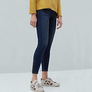 Jeans Skinny Crop Tattoo