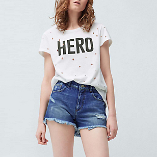 Short Denim Medio