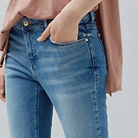 Jeans Skinny Crop Jandri