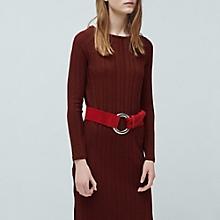 Vestido Textura Rayas