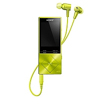 Sony�Reproductor Mp4 16GB NW-A25HN Amarillo Lim�n
