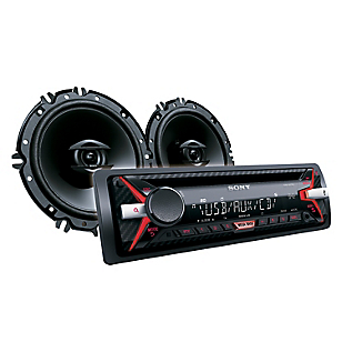 Combo Radio de Auto Radio + Parlantes CXS-G11716U