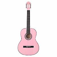 Guitarra Clásica Acústica de 39 pulgadas Rosada