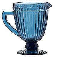 Pitcher Azul Vidrio Color