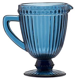 Pitcher Azul Vidrio Color
