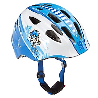 Casco Akino Azul - Blanco