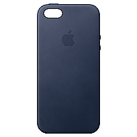 Carcasa iPhone SE Cuero Midnight Blue