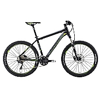 Bicicleta Aro 26 Matts 500 Negra-Verde