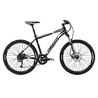 Bicicleta Aro 26 Matts 300 Negra-Blanca