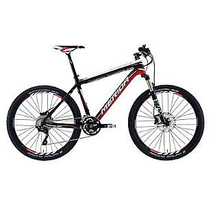 Bicicleta Aro 26 Nine CF 1000 Negra-Roja
