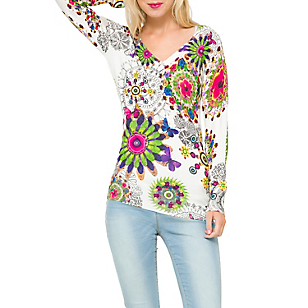 Sweater Estampado Flores