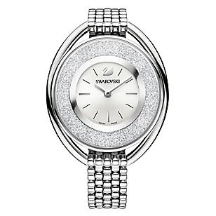 Reloj Crystalline Oval White
