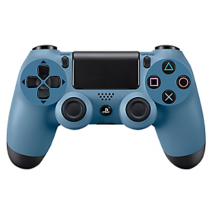 Dualshock PS4 Uncharted 4 Gray Blue