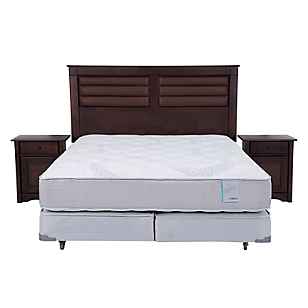 Box Spring Style King BD con Muebles