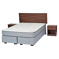 Box Spring Therapedic 2 Plazas Base Dividida