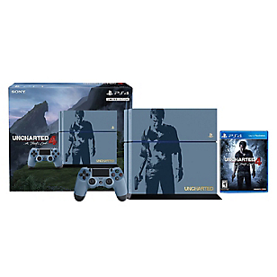 Consola PS4 Bundle 500GB + Uncharted 4
