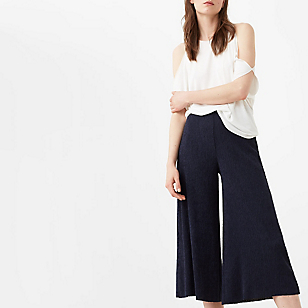 Pantalón Crop Textura