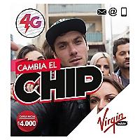 VIRGIN CHIP 4GSIM