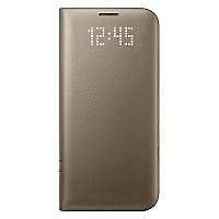 Carcasa S7 Edge Cover Gold