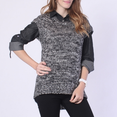 Sweater Manga Corta