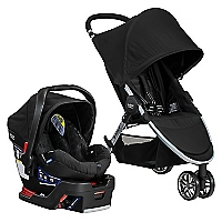 Coche Travel System BAgile/Bsafe Negro