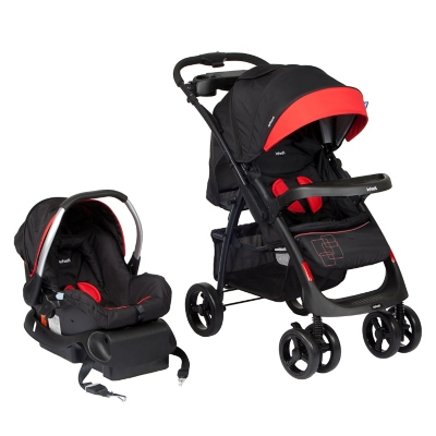 Coche Travel System Andes Lx Red