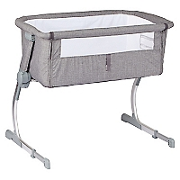 Cuna Corral Cosleeping Grey