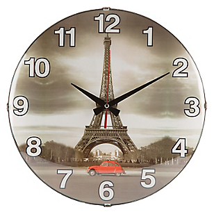 Reloj Foto Torre Eiffel