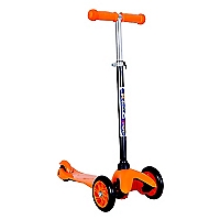 Scooter 3 Ruedas Ajustable Naranjo