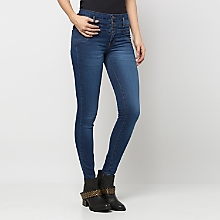 Jeans Skinny Botones