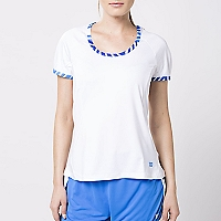 Polera Tulip Cap Sleeve Top
