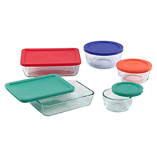 Set 10 Piezas Storage Plus Colores