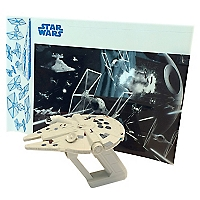 Juguete Millennium Falcon UV Light Laser