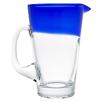 Jarro Azul Vidrio Color