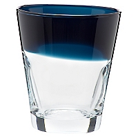 Vaso Azul Piedra Vidrio Color