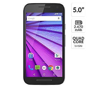 Smartphone Moto G 3era Generación Negro Liberado