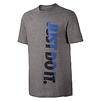 Polera Vertical Just Do It Gris