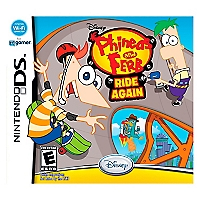 Phineas y Ferb Ride Again DS