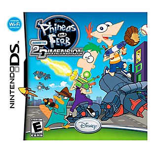 Phineas y Ferb Across 2N Dimension DS