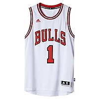 Camiseta Blanca Los Angeles Bulls Swingman