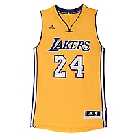 Camiseta Amarilla Los Angeles Lakers Swingman