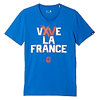 Camiseta Vive la France Graphic