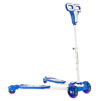 Scooter con Luces Azul