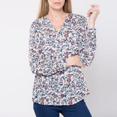 Blusa Estampada Flores